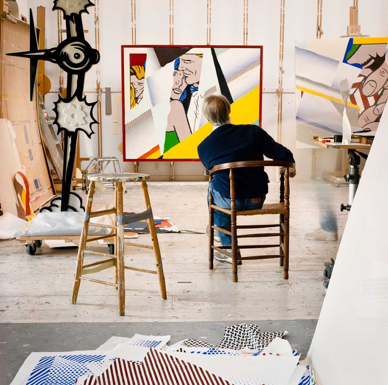 Roy Lichtenstein Residence & Studio by Caliper Studio | Yellowtrace