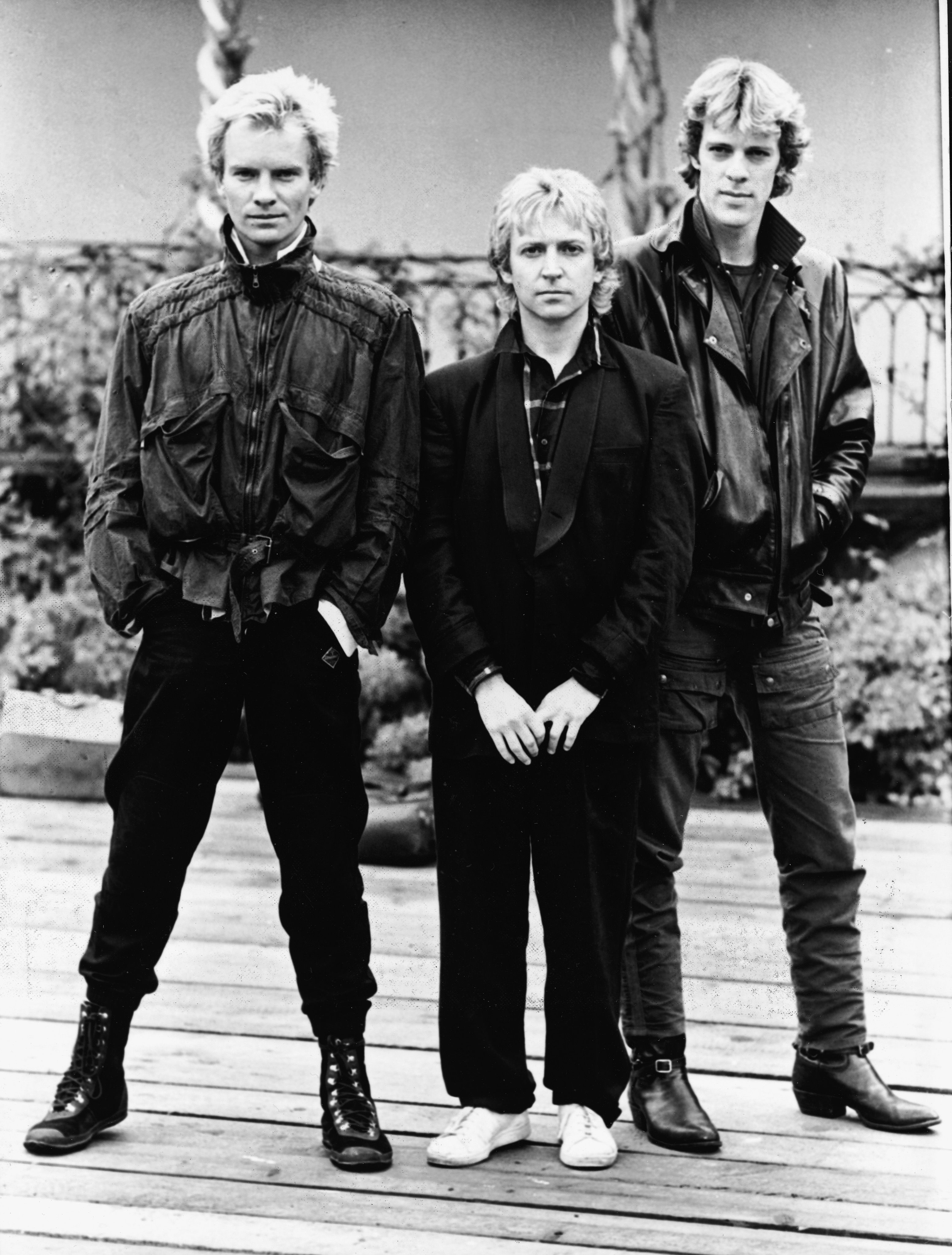 Pin by Chantele Gay on STING | The police band, Rock bands