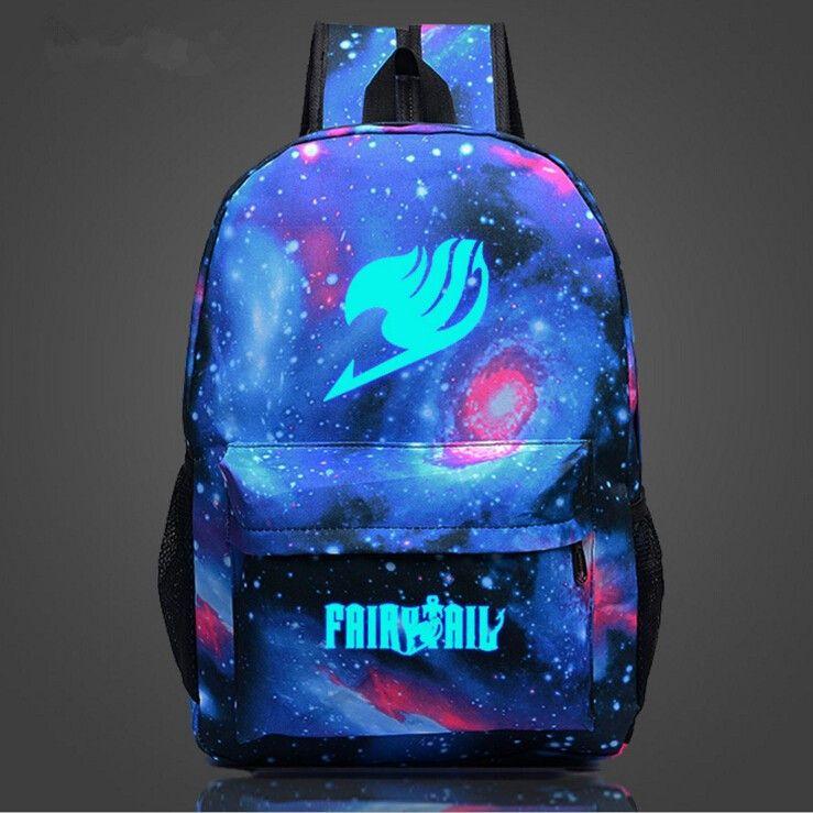 0e23925add2 Fairy Tail Galaxy Print Backpack - Anime Bag - Buy Now!   Anime Bags ...