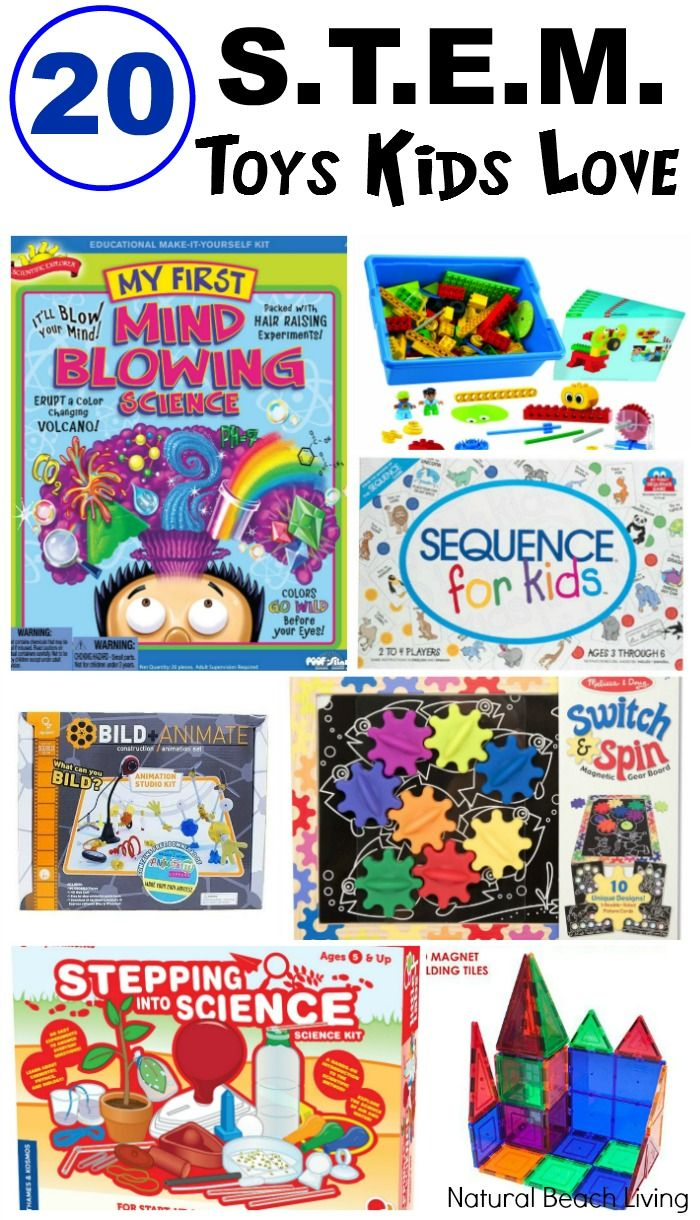 Toys images for boys  STEM Toys Kids Love Science Technology Engineering Math  Math