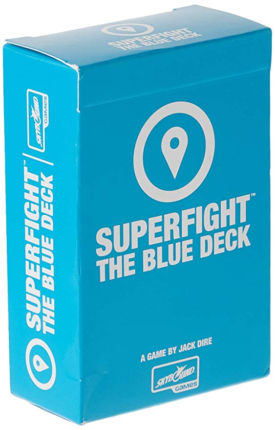 Superfight Blue Deck 100 Location Cards for