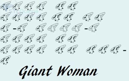 Steven Universe Giant Woman Ocarina Tabs Google Search Ocarina