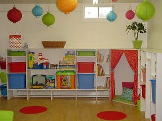 salle de jeux salles de jeux rangement et chambre enfant. Black Bedroom Furniture Sets. Home Design Ideas