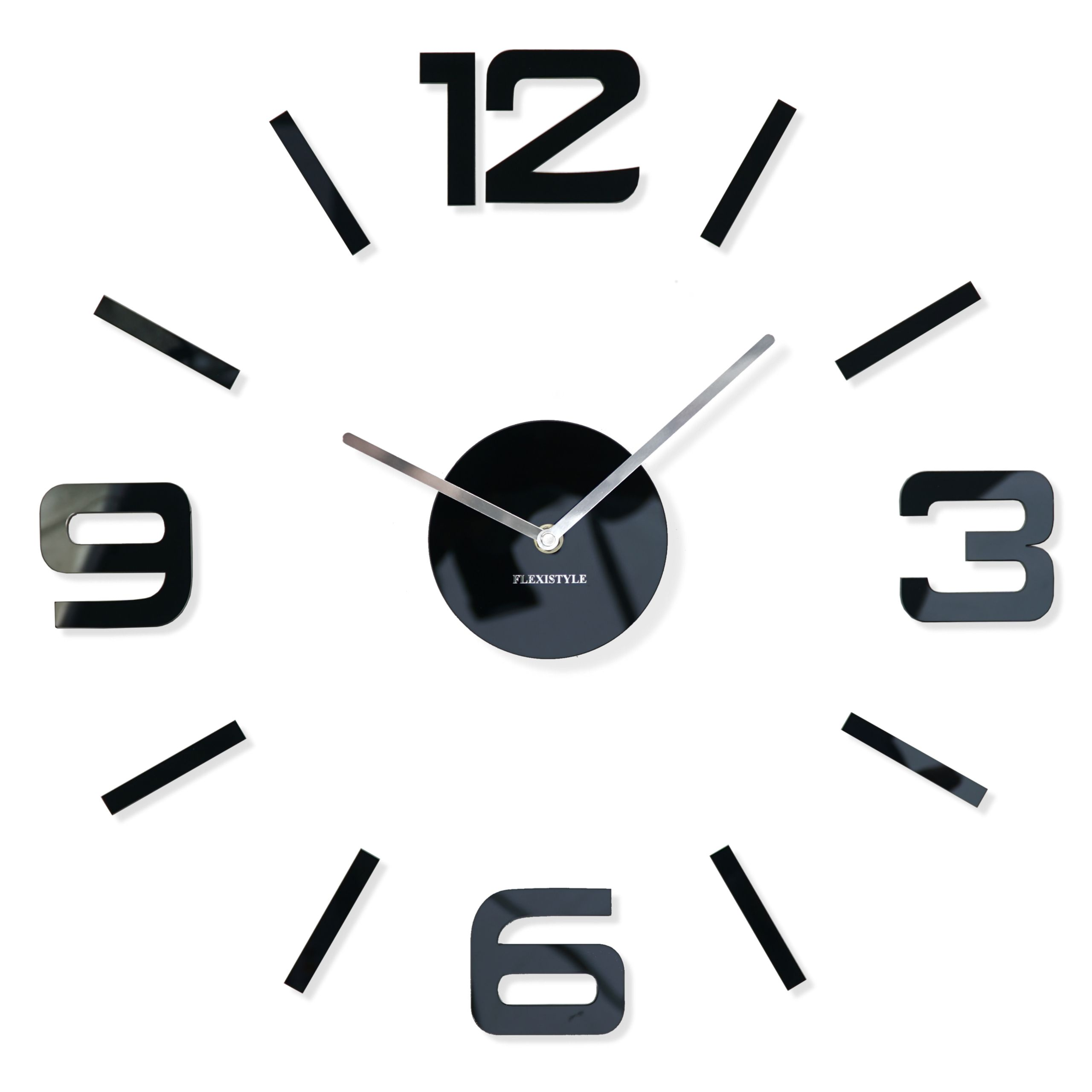 Duzy Zegar Scienny Diy Admirable Z54g1 50 75cm Diy Clock Wall Clock Modern Clock