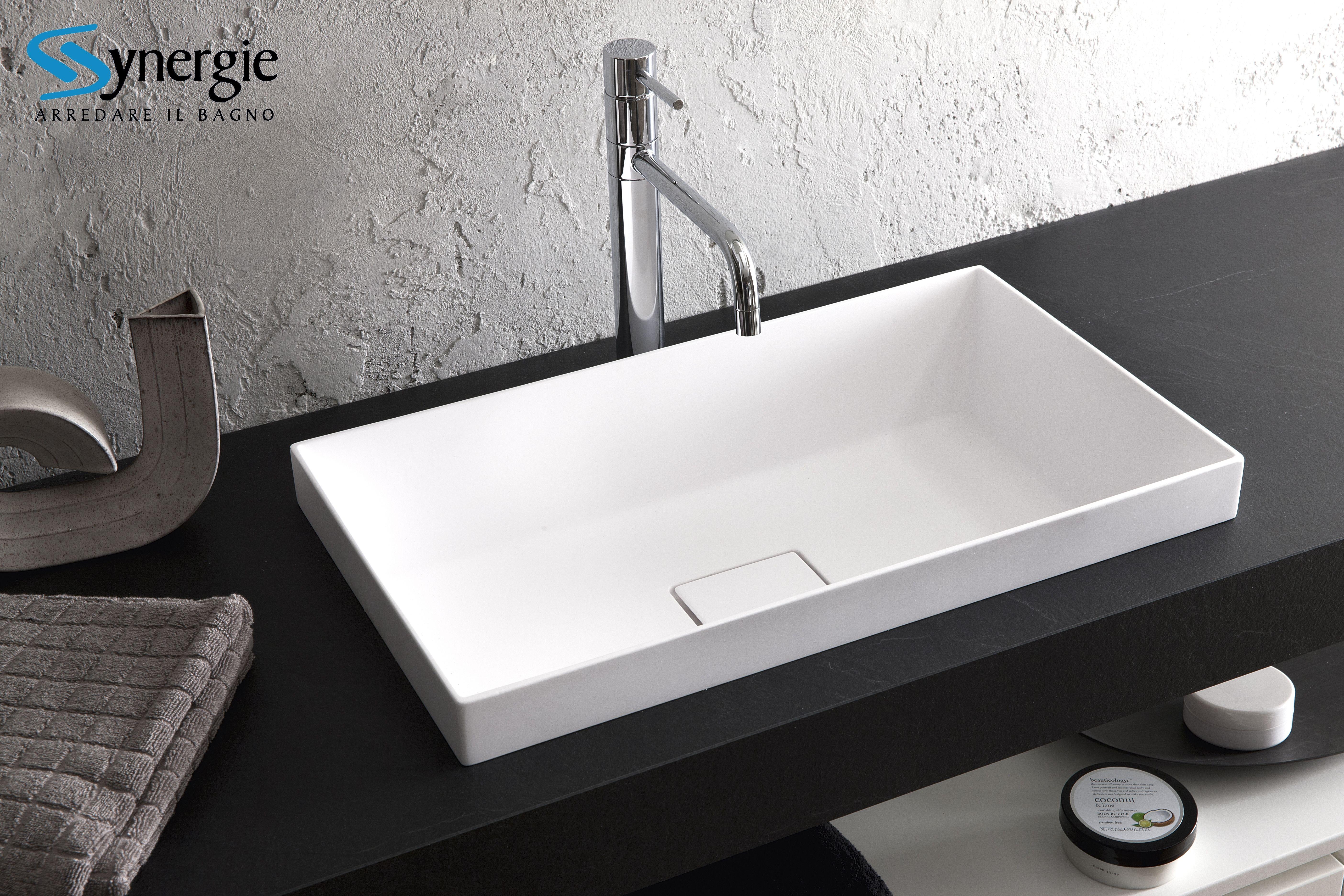 Lavabo In Ceramica O Mineralmarmo.Lavabo In Mineralmarmo Desy H2o Home Decor Sink Lava