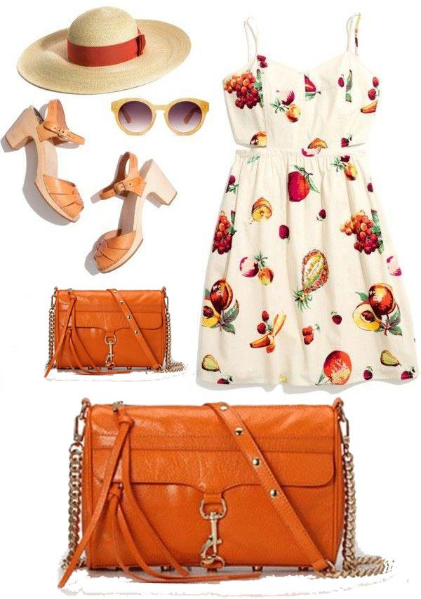 Orange Rebecca Minkoff Mac Clutch Handbag   #rebeccaminkoffhandbag