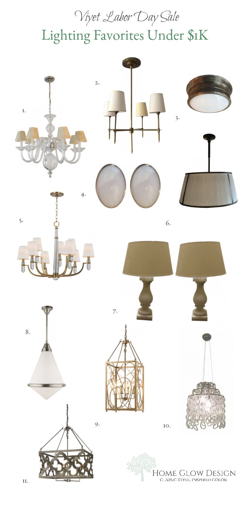 Designer Consignment Lighting Labor Day Sale 2017