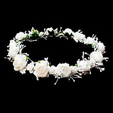아름다운 꽃 웨딩 꽃 소녀 화환