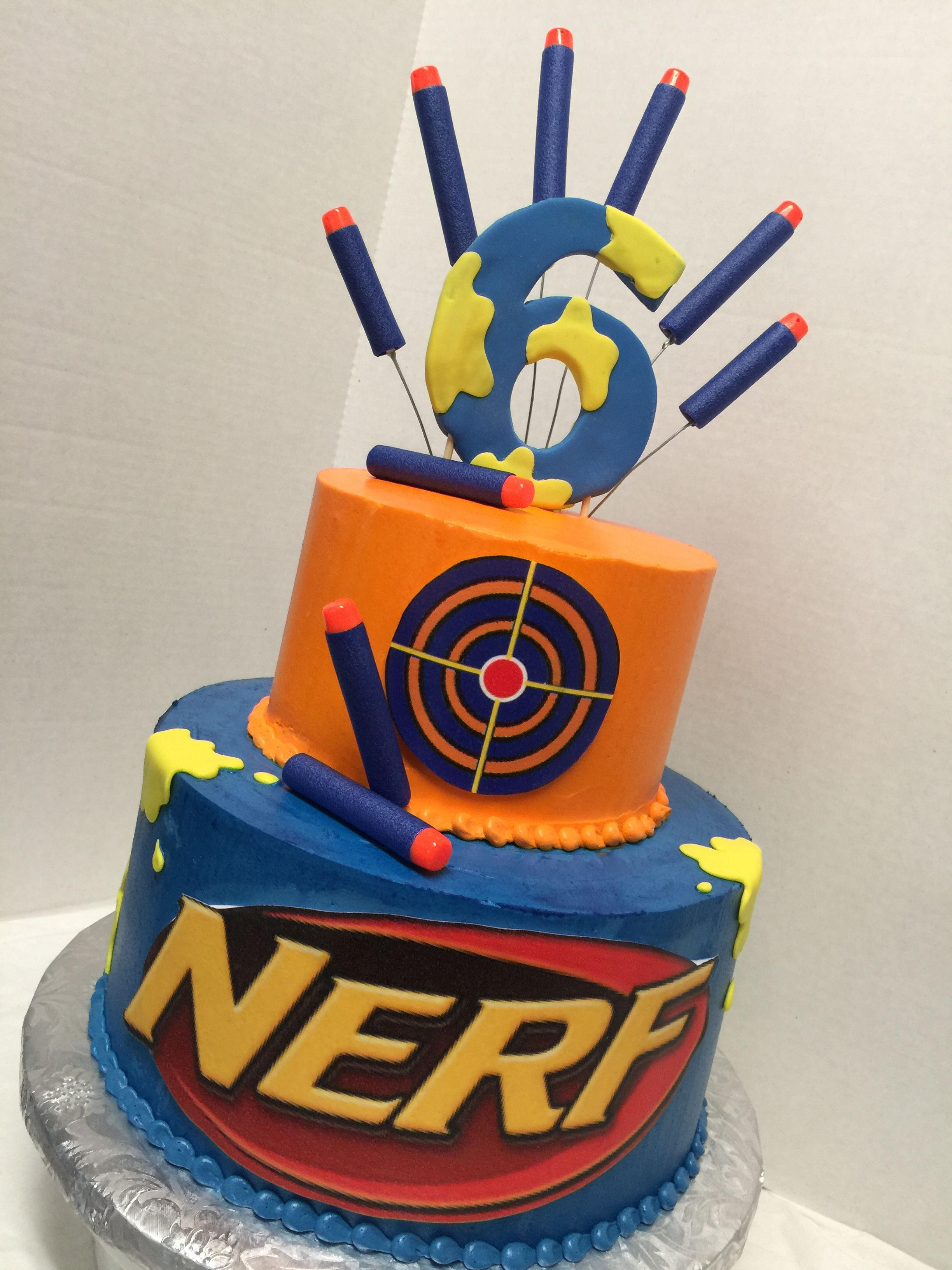 Nerf Cake Facebook Tdgcakes