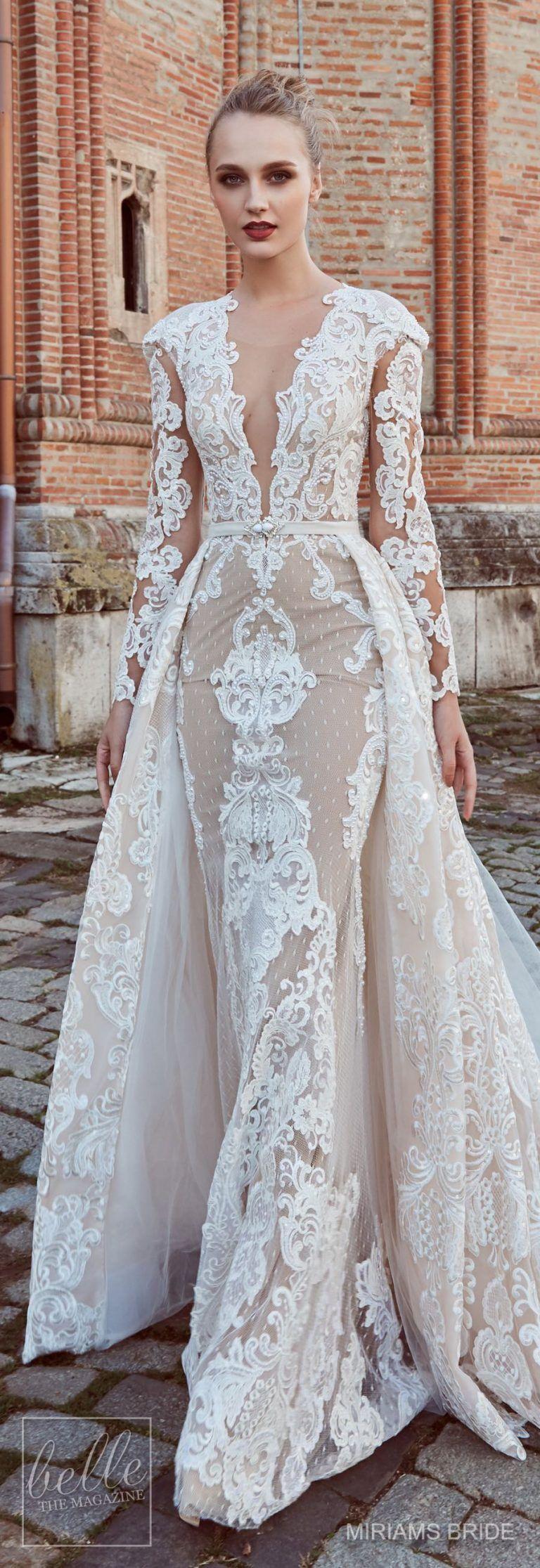 Bridal Trends: Non Strapless Wedding Dresses - Belle The Magazine ...