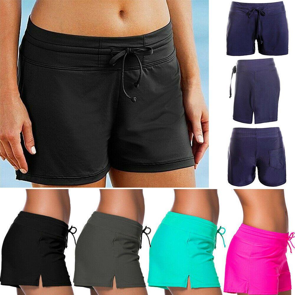 f8c6874d20 Plus Size Women Plain Swim Shorts Bikini Swimwear Boy Cut Sport Beach  Bottoms #fashion #clothing #shoes #accessories #womensclothing #swimwear  (ebay link)