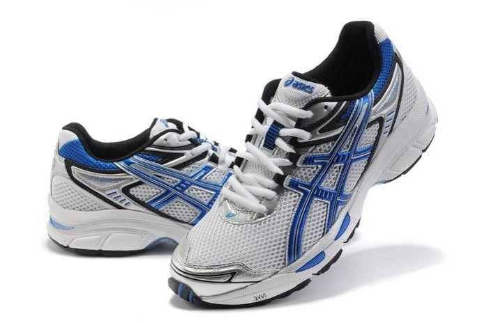 wholesale dealer 23929 baf0d Blue White Black Asics Running Gel Virage 4 Shoes onitsukatiger