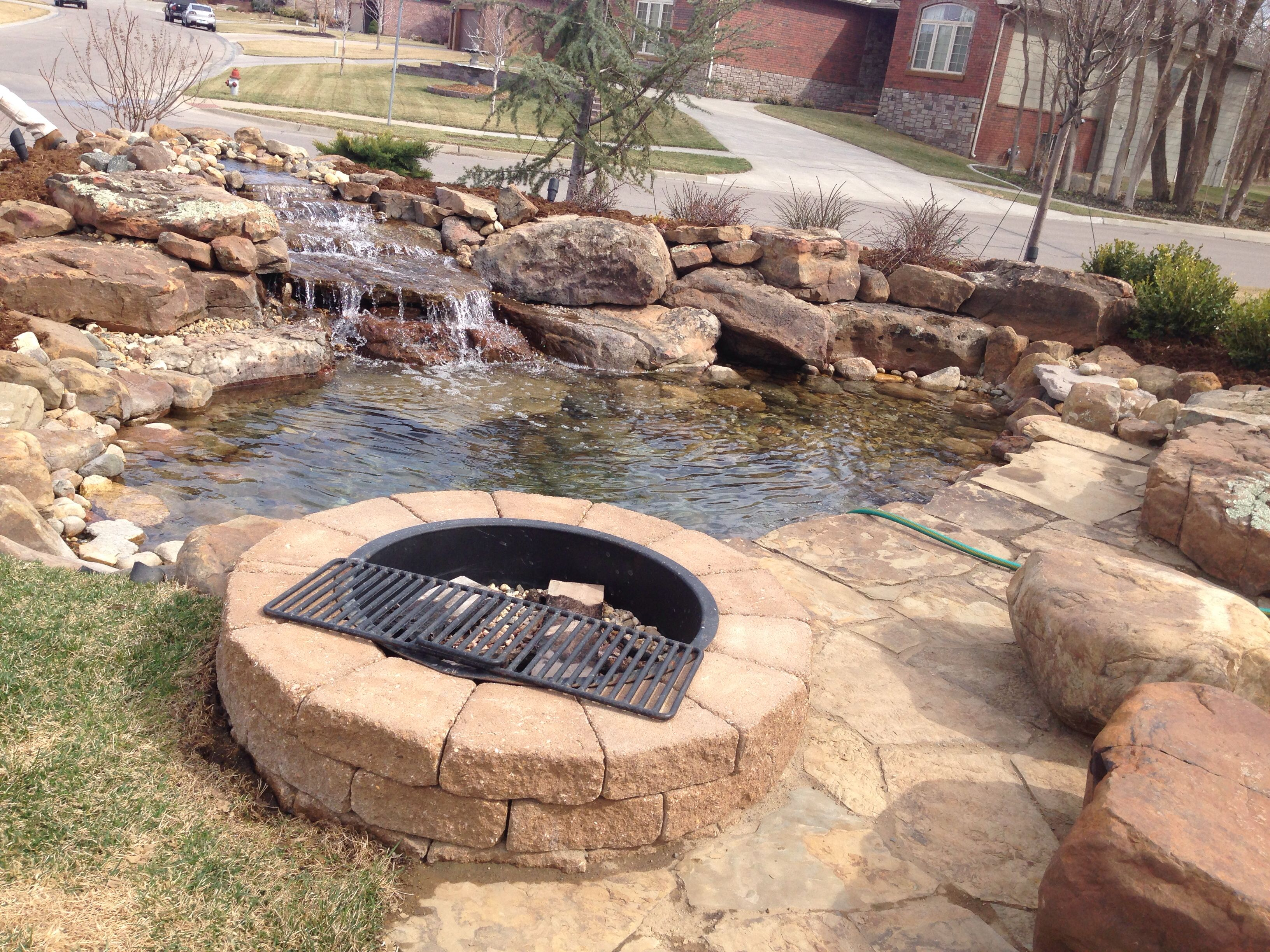 Pond side fire pit | For the Home | Pinterest | Pond, Yard ideas and Pondside Backyard Ideas Fire on barn fire ideas, backyard fire friends, backyard fire places, backyard fire art, deck fire ideas, backyard fire pit, wall fire ideas, outdoor fire ideas, backyard fire designs, halloween fire ideas,