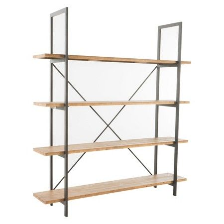 Septima 4-Shelf Antique Bookcase - Antique - Christopher Knight Home : Target