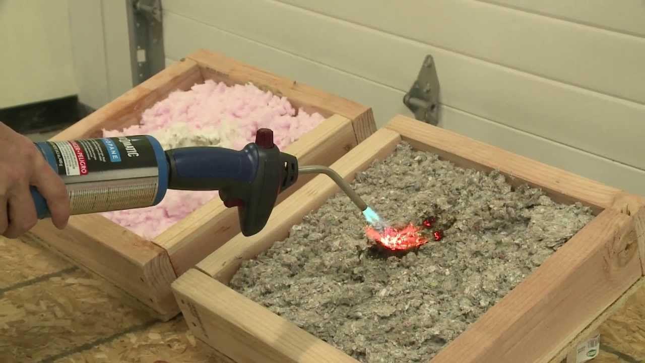 Fire Testing Insulation Materials Future Man