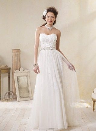 Alfred Angelo New Modern Vintage Bridal Gowns Size 2