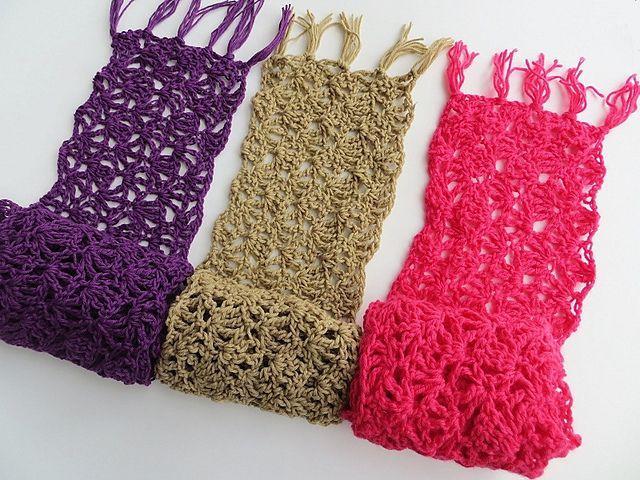 Ravelry: Alana Lacy Scarf Free Crochet Pattern pattern by ...