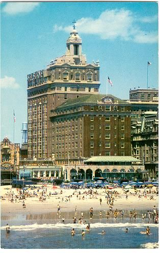 The Shelburne Hotel Atlantic City This Was A Beautiful Hotel One Of My Favs Atlantic City Boardwalk Atlantic City Around The World In 80 Days