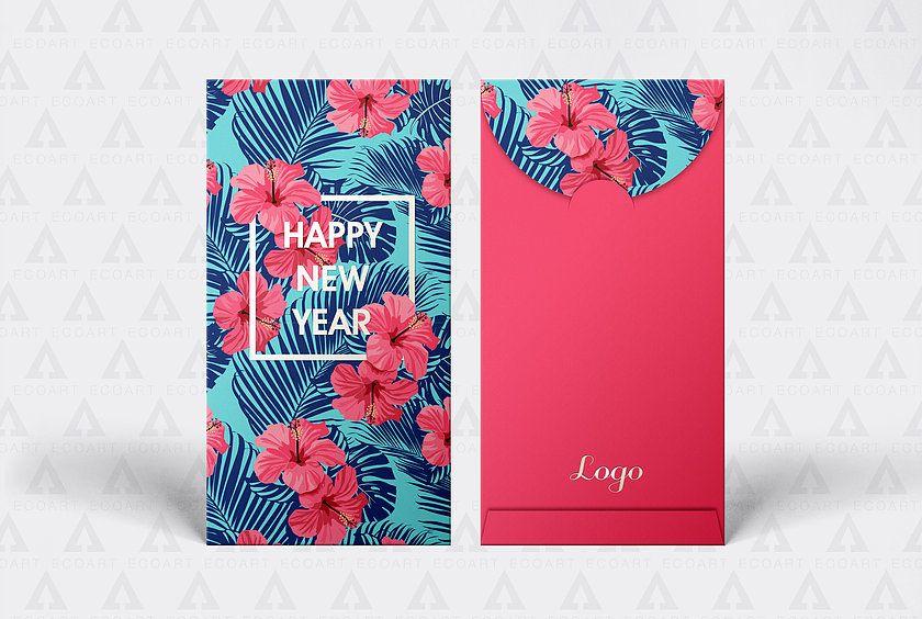 2019利是封豬年利是設計紅包新款Red Packet Angpow red envelope