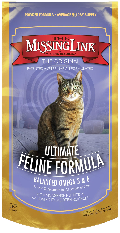 The Missing Link Original Feline Skin Coat Supplement 6 Oz Cat Supplement Pet Supplements Cat Nutrition
