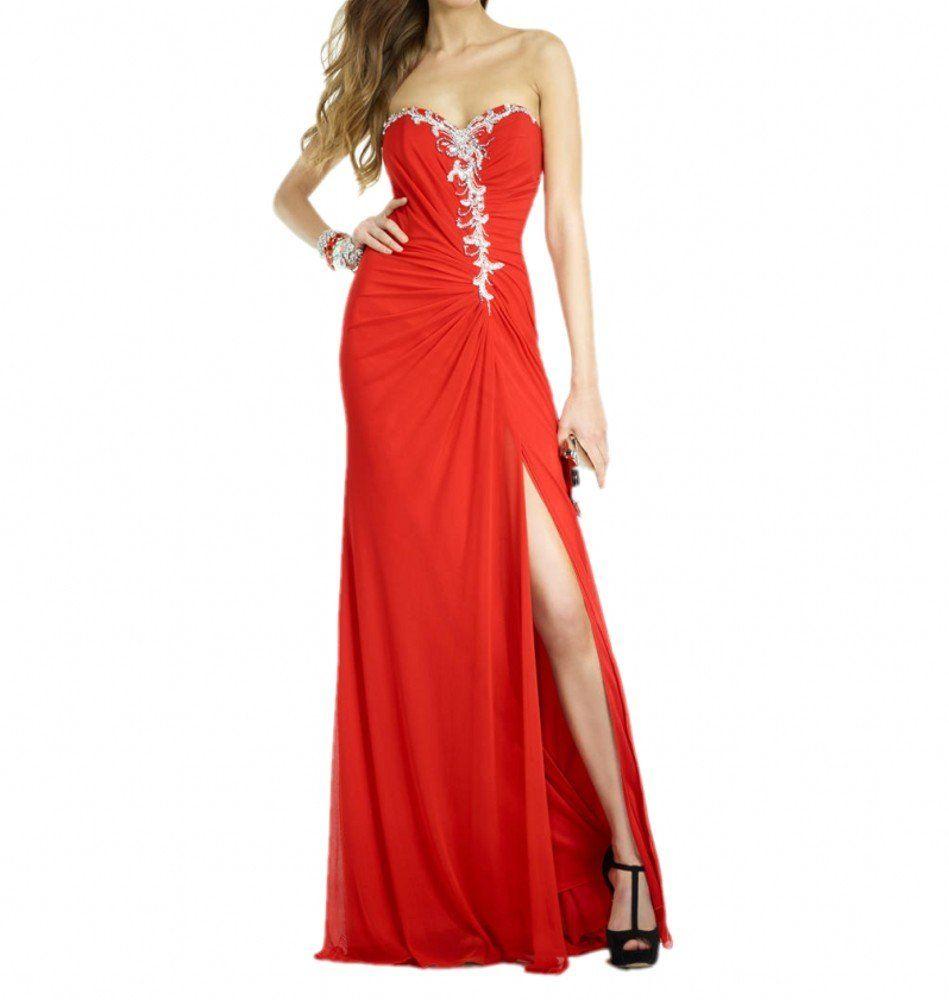 Royaldress charming beading long formal evening prom dress for women
