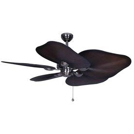 Harbor Breeze 52 In Baja Polished Pewter Ceiling Fan For The Living Room