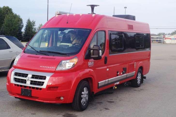Winnebago Travato First Drive First Drive Rv For Sale Rv Parks