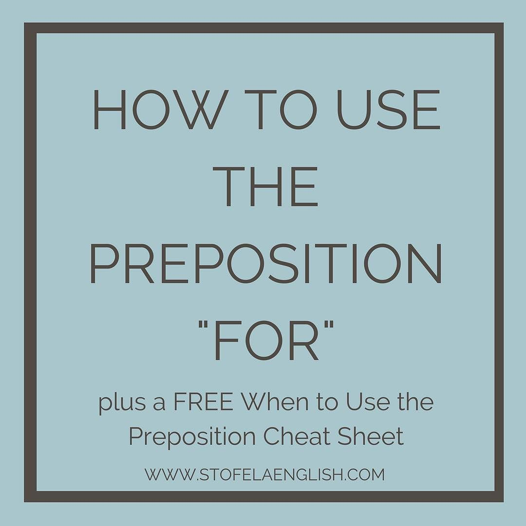 One Of The Hardest Prepositions For English Language