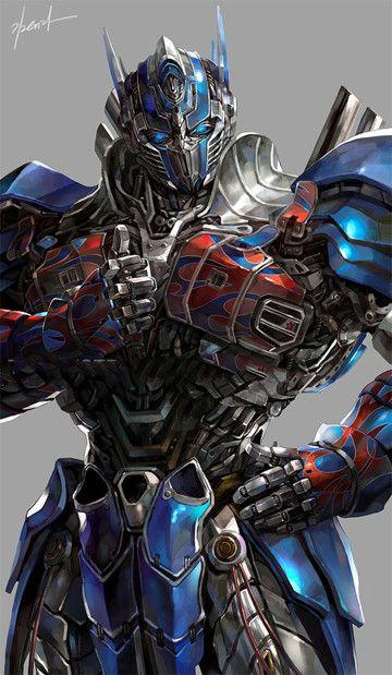guysguysguys omigod he looks so cool giant alien robots with