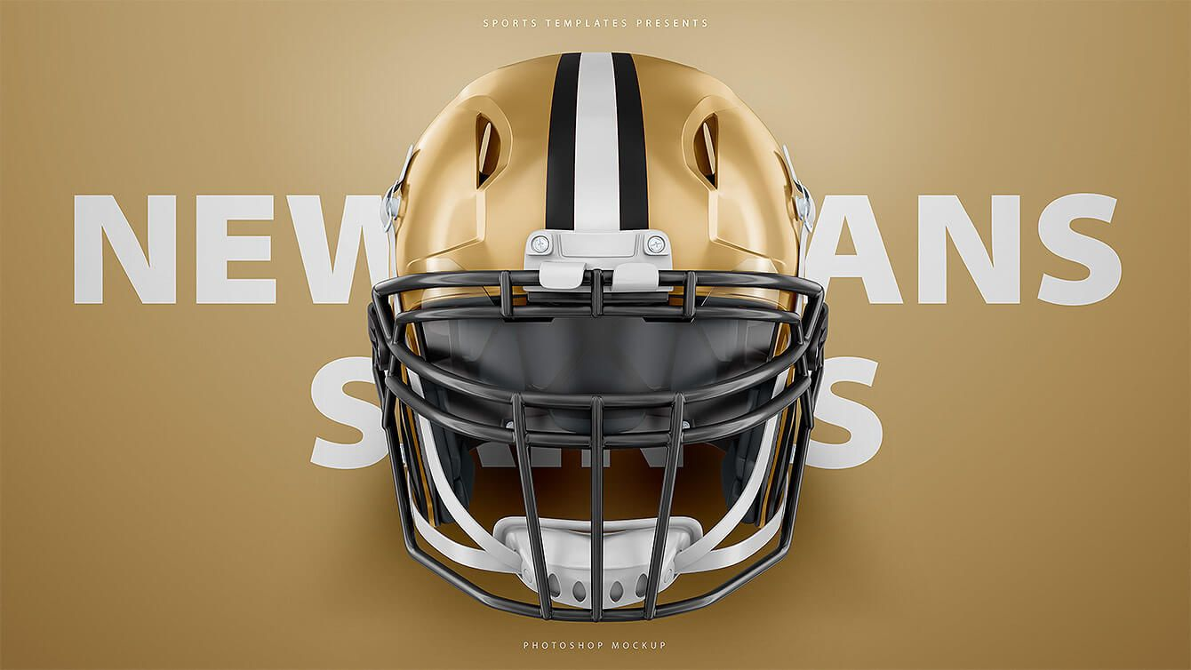 American Football Helmet Mockup Pack Sports Templates Football Helmets Sports Templates Helmet
