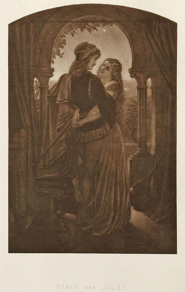 Sir Joseph Noel Paton Romeo And Juliet Art Art Of Love Romeo And Juliet Poster