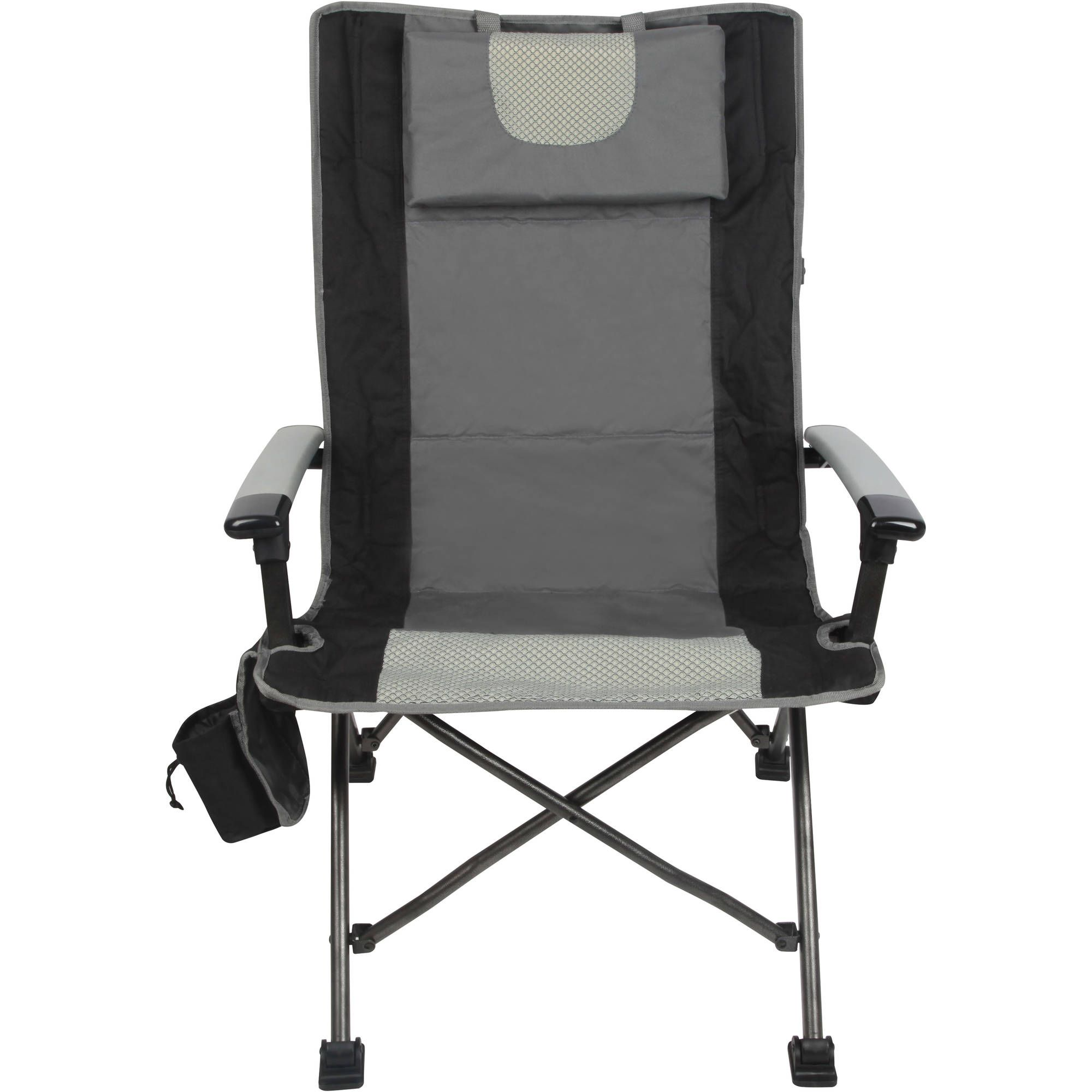 Outdoor High Back Folding Chair With Headrest Set Of 2 Comfortable