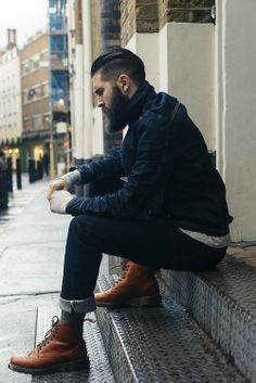 Men With Beards - how handsome