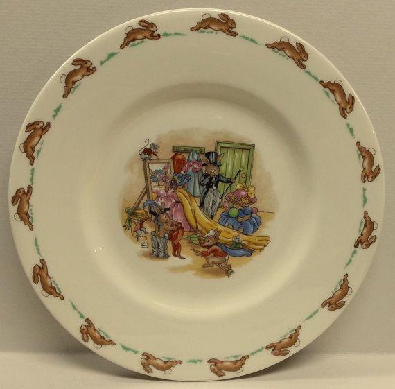 Royal Doulton Plate England Fine Bone China by Snowyowltreasures