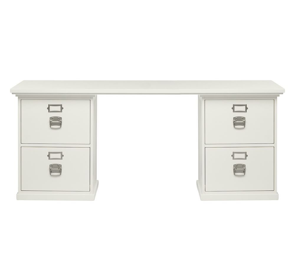 Pottery barn office furniture 2 - Pottery Barn Bedford Rectangular Desk Have 2 Of These In White