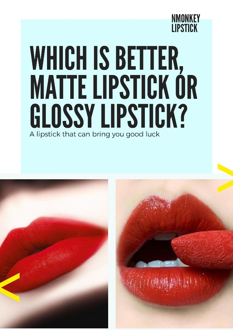 Which Is Better Matte Lipstick Or Glossy Lipstick Glossier