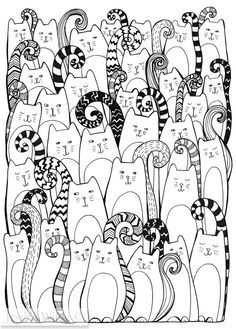 Cats are Taking Over Giclee Fine Art Print by Jess