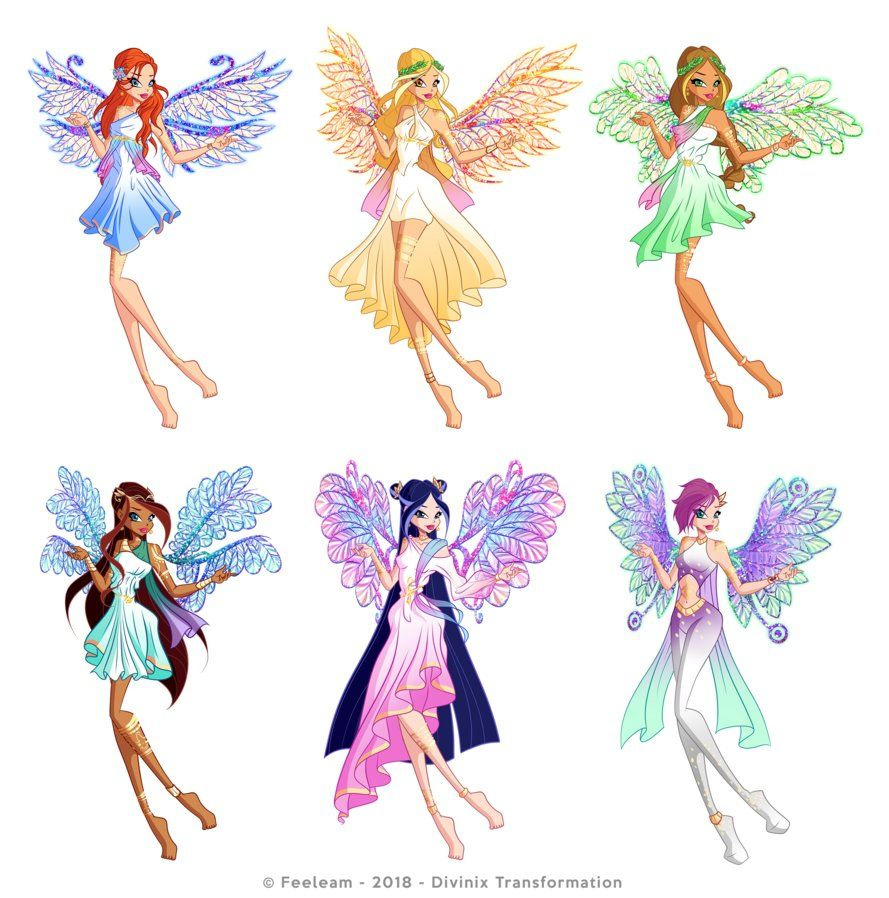 Divinix Winx Club By Feeleam With Images Club Outfits Bloom