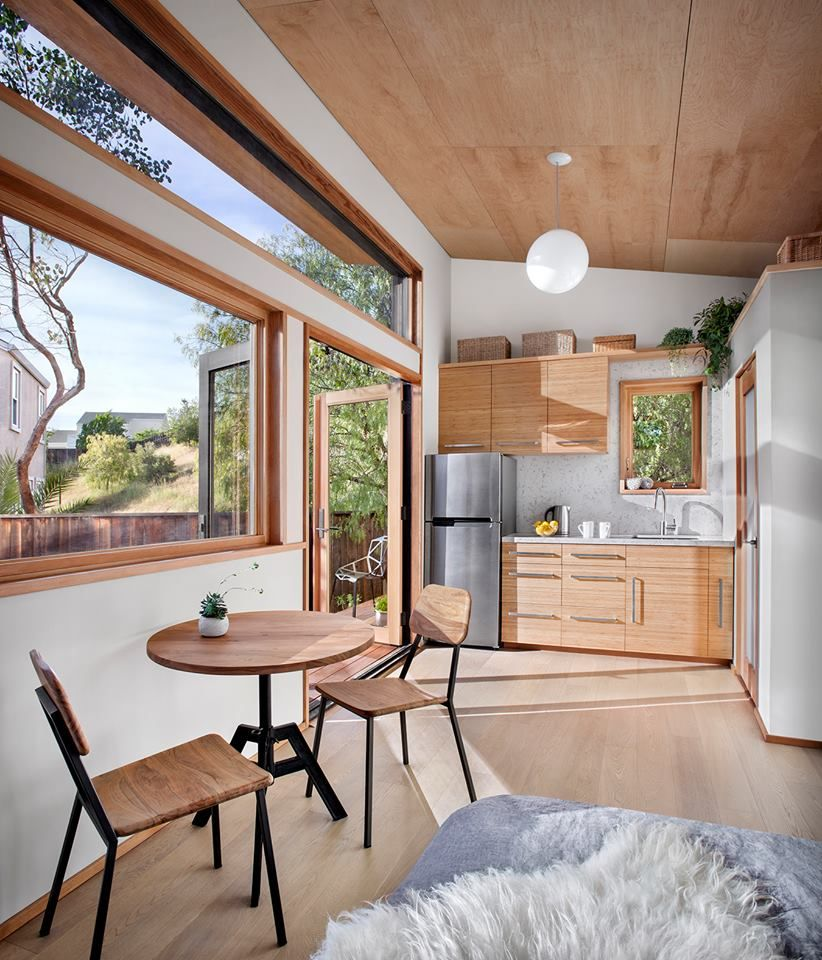 Marvelous This Efficient Tiny House From San Franciscos Avava Systems Largest Home Design Picture Inspirations Pitcheantrous