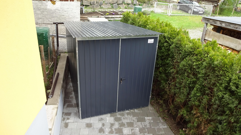 motorradgarage 2x3m in ral garagen pinterest garage. Black Bedroom Furniture Sets. Home Design Ideas