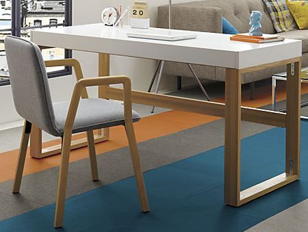 Cb2 Torino Desk Table 499 Office Furniture Modern Furniture Home