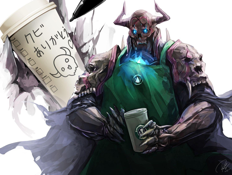 all_male apron armor cape drink fate/grand_order fate