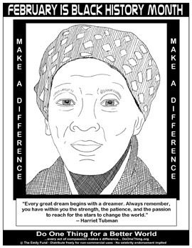 black history month coloring pages harriet tubman wikipedia the