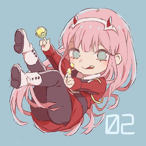 Zero Two Zero Two Darling In The Franxx Darling In The Franxx 02 Pixiv Personagens De Anime Menina Anime Anime