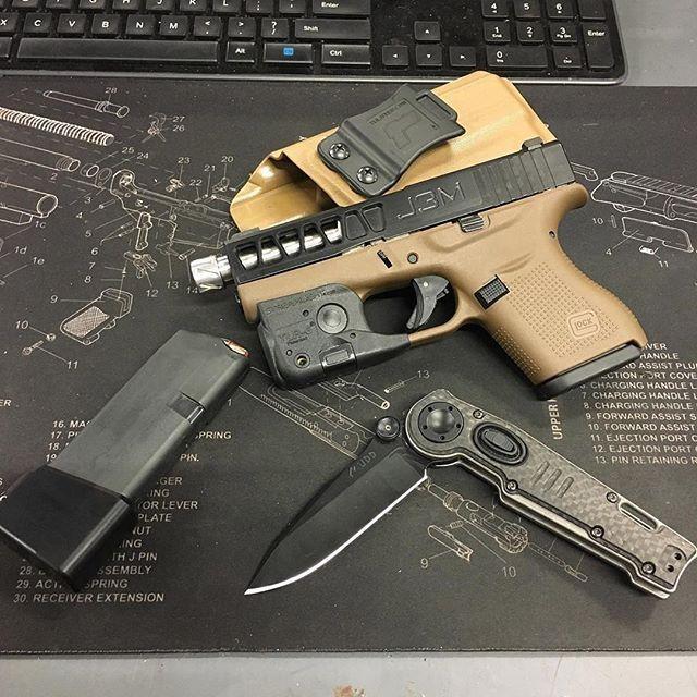 Streamlight Trigger Guard Light/Laser TLR-6 for Glock 42/43/43X/48