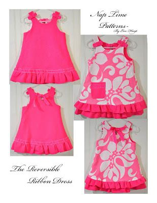 12 fabric crafts For Children dress patterns ideas