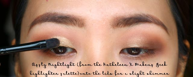 Matte Eye Shadow Look Step By Step Simple Day Time Smokey Eye