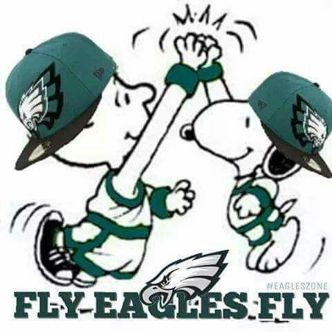 Snoopy | Philadelphia Eagles : best football team ever ! | Pinterest