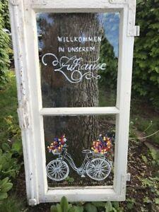 Photo of Alte Fenster, Dekoration, Garten, Shabby Chic in Bayern – Kastl b Kemnath   eBay…