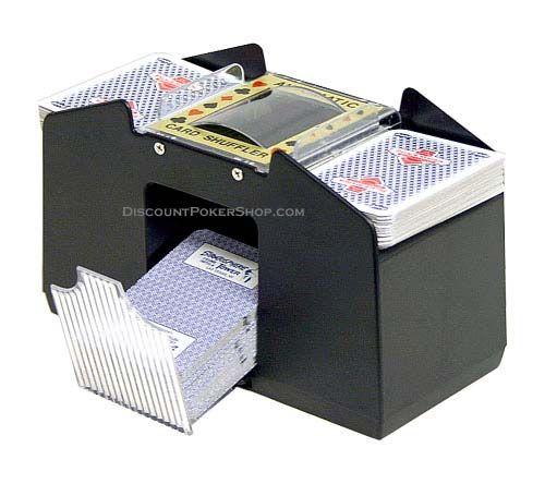 4 Deck Automatic Card Shuffler P 37 Deck Cards Vegas Style